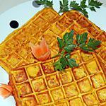 recette Gaufres de carottes du blog cccuisine.over-blog.com