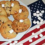recette Cookies moelleux aux minis marshmallows us du blog cccuisine.over-blog.com