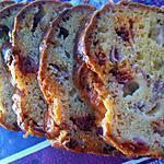 recette Cake salé soubressade, mozzarella et jambon fumé