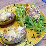 recette Pommes de terre farcies aux endives