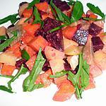 recette Salade aux harengs fumés et betteraves
