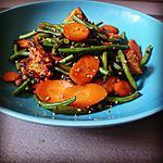 recette Wok de légumes à l'huile de coco et au sésame