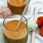 recette Smoothie aux abricots, bio  {SANS GLUTEN/ SANS OEUFS / SANS LAIT }