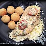recette Blanc de poulet à la crème de curry (recette allégée)