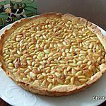 recette Tarte aux pignons et à la framboise