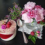recette Panna Cotta aux Framboises et Framboisines de Fougerolles