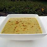 recette Soupe de courgette à l'indienne