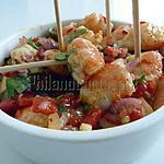 recette Crevettes marinées
