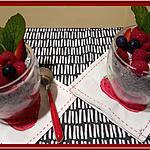 recette Pudding de Chia aux fruits rouges