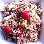 recette Salade de riz et thon à la provençale