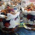 recette Tiramisu aux fruits rouges et spéculoos