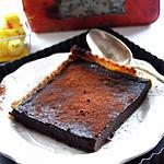 recette Tarte au chocolat et cognac