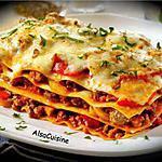 recette Mes lasagnes ...