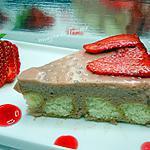 recette nuages aux fraises