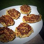 recette Galettes aux courgettes, quinoa et chèvre