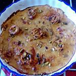 recette flamusse aux abricots  de kilométre  zéro