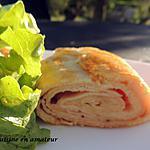 recette Roulé de jambon avec la pâte à tarte Tupperware