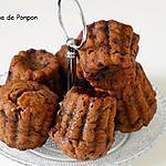 recette Muffin à la banane et aux pépites de chocolat