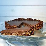 recette Tarte au chocolat vegan et sans gluten
