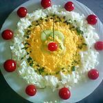 recette Soleil concombre et œufs du blog cccuisine.over-blog.com