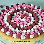 recette Gâteau magique aux framboises