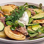 recette Veau en salade d'été