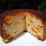 recette Gâteau de riz au caramel et aux abricots