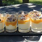 recette Verrines de compotes et mousse mascarpone
