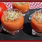 recette Soupe de Tomates, Basilic, ail et vinaigre balsamique