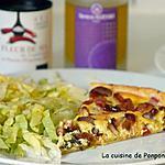 recette Tarte aux fanes de radis et tomates séchées
