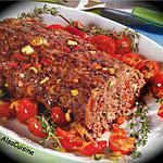 recette Pain de viande grec aux poivrons