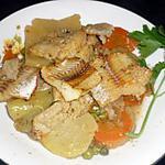 poisson aux légumes