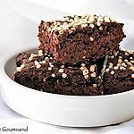 recette Gâteau au chocolat et à la courgette, bio {SANS GLUTEN / SANS OEUFS / SANS LAIT}