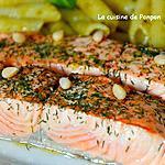 recette Filet de saumon cuit à basse température