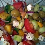 recette salade grec à ma façon