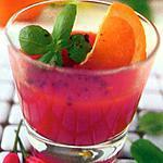 recette Jus de tomate, orange, piment et basilic