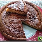 recette Gâteau au lait fermenté parfumé à la vanille avec l'aide du Cooking chef