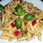 recette Salade de penne regate au poulet