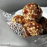 recette Energy Balls citron-quinoa, bio {SANS GLUTEN / SANS OEUFS / SANS LAIT / Végétalien  }
