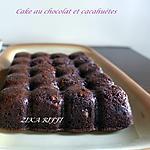 recette CAKE AU CHOCOLAT ET AUX CACAHUÈTES