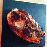 recette Épaule de porc à l'américaine version plancha