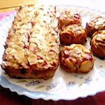 recette cake aux groseilles et aux amandes  de nathalie    milani,,,,cuisine pour voozeno