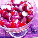 recette mousse  betteraves rouges  et  radis