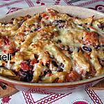 recette Gratin de pâtes à la mexicaine