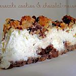 recette Cheesecake aux Cookies & Chocolat - Noisettes
