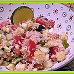 recette Salade de Légumes croquants