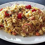 recette Salade d'avoines, cervelas, tomme de Savoie et radis roses