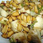 recette Gong bao ji ding (poulet du Si Chuan)