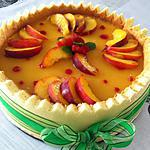 recette Charlotte pêche-abricot
