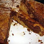 recette Gâteau marbré bananes-chocolat au rhum